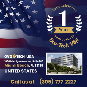 OVO-TECH USA one year anniversary